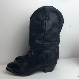 Beautiful Durango black slouch boots Goodyear welt